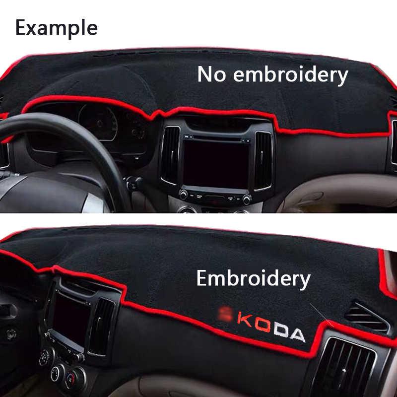 MIDOON araba Dashboard kapak silikon kaymaz için Chevrolet Cruze 2009 2010 2011 2012 2013 2014 Dash Mat ANti-UV halı DashMat