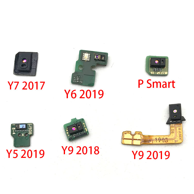 New For Huawei Y7 2017 Y9 2018 Y5 2019 P Smart Light Proximity Sensor Flex Ribbon Connector Cable Replacement