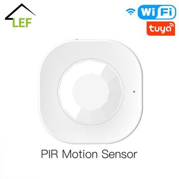 Tuya WiFi czujnik PIR bezprzewodowy czujnik ruchu czujnik podczerwieni bezpieczeństwa Alarm antywłamaniowy czujnik inteligentne życie kontrola aplikacji tanie i dobre opinie CN (pochodzenie) 1150 S9 Meters