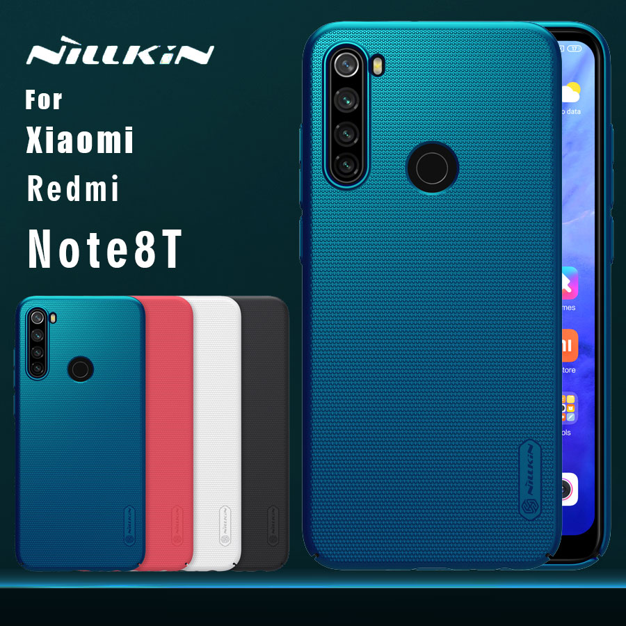 for <font><b>Xiaomi</b></font> <font><b>Redmi</b></font> Note 8T 8 <font><b>7</b></font> Pro Case Nillkin Frosted Shield PC <font><b>Back</b></font> <font><b>Cover</b></font> Case image