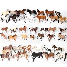 Animais genuínos modelo oldenburg harvard figuras de ação selvagem corcel estatuetas cavalo coleção educação brinquedos para crianças presente
