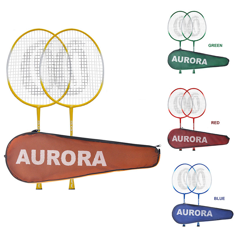 Professional Nylon Ferroalloy School Toys Badminton Racket Racket Sports Sporting Goods Sports Racket Game Movement Lightweight