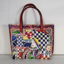 italian boho leather women handbags shoulder bags female