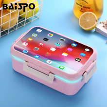 Microwave Lunch Box For Kids Portable Bento Box With compartments