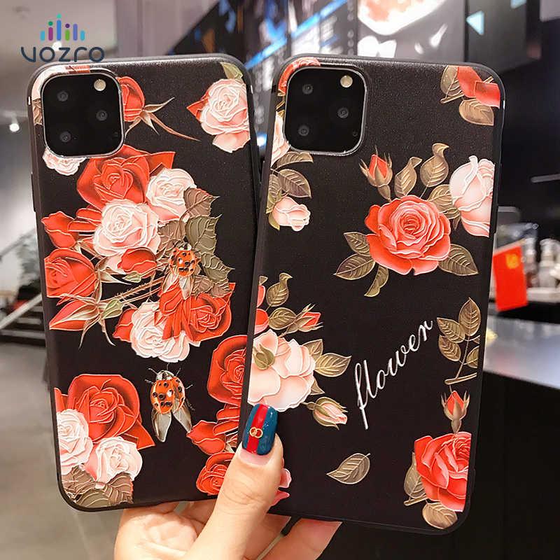 Carcasa Personalizada Funda De Lujo Vintage Floral Flower Phone