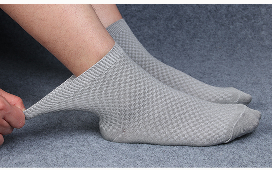 Ανδρικές κάλτσες από μικροΐνες σετ 10 ζευγαριών 38-46 msow
