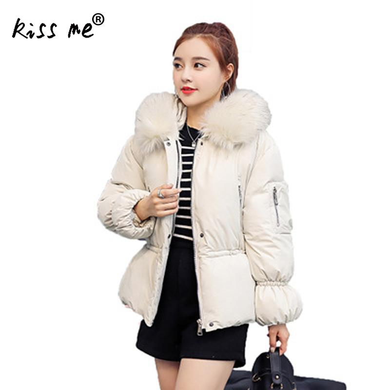 Solid Winter Outdoor Down Jacket Autumn Casual Hooded Coat Thermal Warm Windproof Jacket Cute Thicken Fashion Jacket