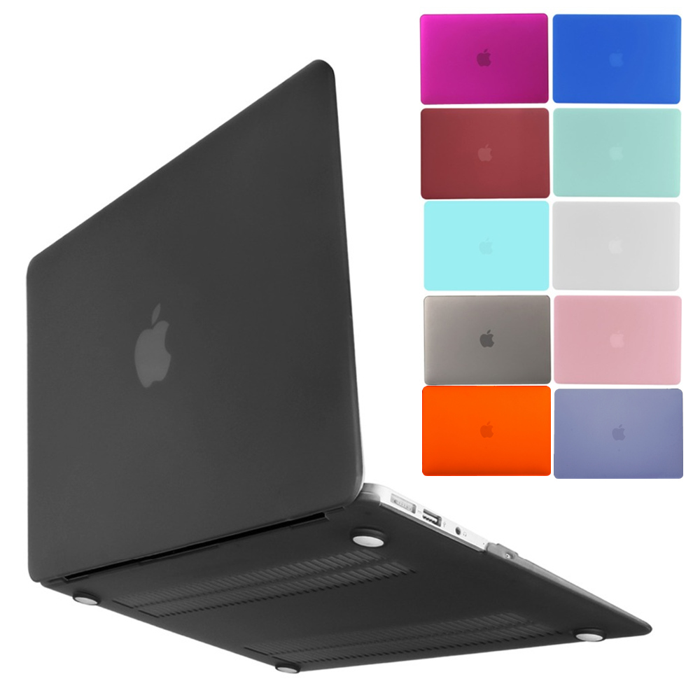 New laptop Case For MacBook Air 13.3 11.6 MacBook Pro 15.4 13.3 Retina 11 12 13 15 MacBook 15.4 13.3 inch Frosted Notebook Case image