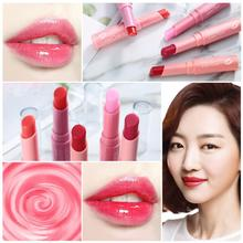 1Pc Lips Care Nature Moisturizing Hydrating Light Color Makeup Lip Balm Colored Not stick on Cup Fruit Lipstick Lip Gloss TSLM1