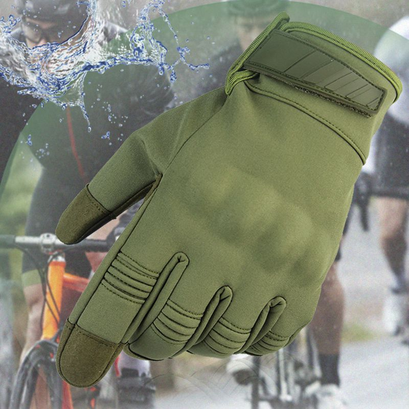 Best! Outdoor Windproof Cycling Hunting Climbing Sport Smartphone Touchscreen Camping Gloves