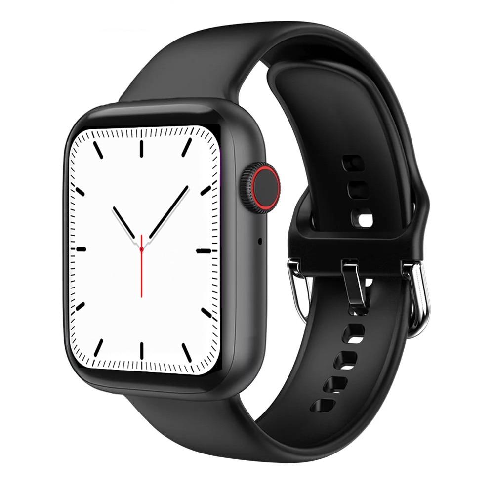 DOOLNNG  T500 Full Touch Smart Watch 2020Men Fitness Tracker Support Bluetooth Call Music Play Women SmartWatch 1