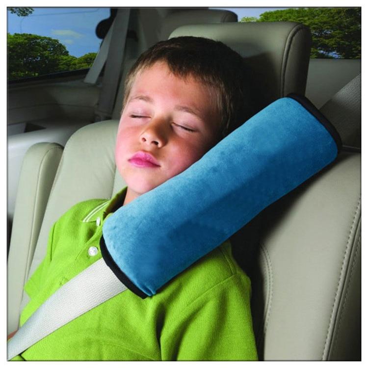 US Kids Safety Car Seatbelt Pillow Car Seat Belt Cover Strap Adjustable Cushion