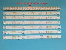 100% nova 7pcs/Kit tiras de LED para SONY KDL TV KDL 48W650D 48 48W653 KDL 48WD653 LSY480HN02 LSY480WN02 LB48009 V0_03 LB48009 V1_04