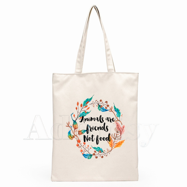 Vegetarians Are Hot Tote Shopping Bag