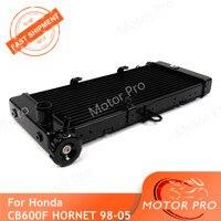Radiator For Honda CB600F HORNET 1998   2005 Cooling Cooler Motorcycle Parts CBF CB600 CB 600 F 1999 2000 2001 2002 2003 2004