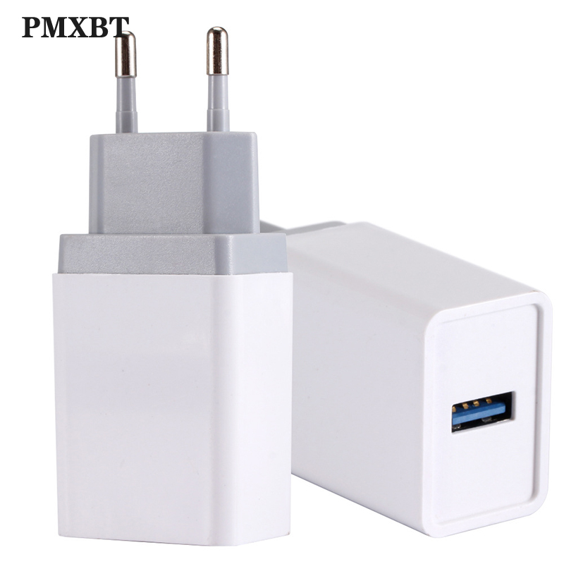 Quick Charge <font><b>USB</b></font> <font><b>Charger</b></font> <font><b>QC3.0</b></font> Travel Wall Fast Charging Adapter For iPhone Samsung Huawei Tablet EU Plug Mobile Phone <font><b>Chargers</b></font> image