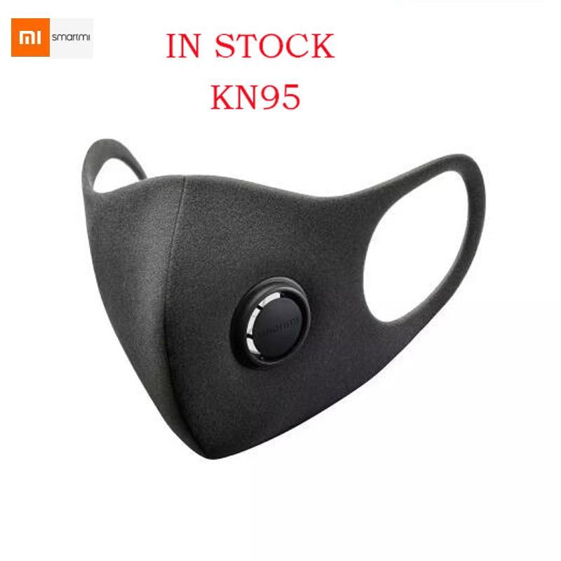 In Stock Xiaomi Youpin Smartmi Anti-Haze Professional Protective Face Cover Face Mask PM2.5 Haze Mask FFP2