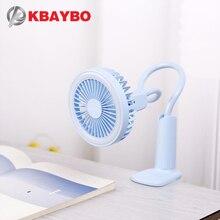 Draagbare Usb Ventilator Flexibele Met Led Licht 2 Speed Verstelbare Koeler Mini Fan Handig Klein Bureau Desktop Usb Koelventilator voor Kind