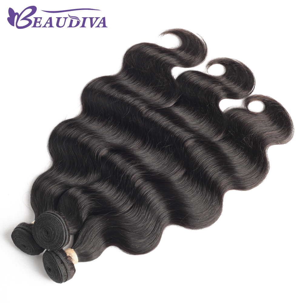 "Body Wave Hair Bundles Natural Black&Jet Black   Bundles 1/3/4 Piece 8-30""  Hair s 5"