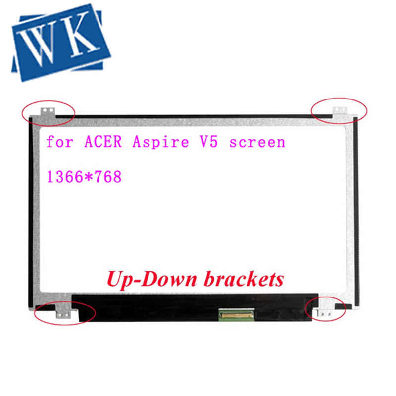 11.6 Inch LCD Ma Trận Cho Acer Aspire V5 Series Model Zhg Laptop Màn Hình LCD 40pin 1366*768 bảng Điều Khiển Thay Thế