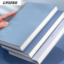 B5 Notebook Binder Sketchbook Journal forniture per ufficio lyofes addensare quaderni a spirale riviste libro diario scuola di cancelleria cheap CN (Origine)