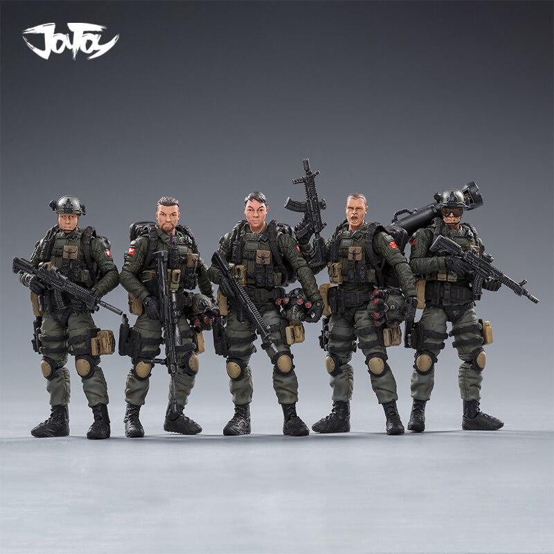 JoyToy Dark Source female troops Stina//Lengyue//Mandy 1:25 3 Action Figures Set