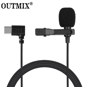 Image 1 - Mini Microphone Mic USB C Type C Mic Condenser Audio Recording For Huawei Xiaomi Samsung Android Phone USB C Microphone