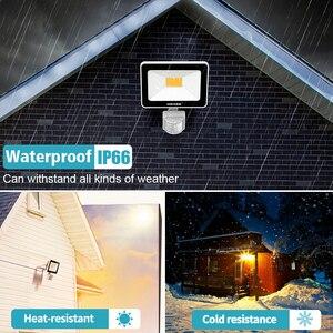 Image 3 - 35W éclairage LED avec capteur de mouvement IP66 LED étanche projecteur lampe réflecteur projecteur extérieur pour jardin