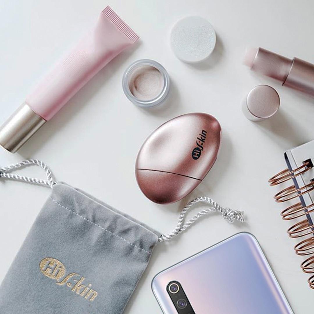 Bluetooth connecter Xiaomi HiSkin détecteur de peau Portable Xiomi Instrument d'essai peau Surface matité + Test d'humidité APP contrôle - 3