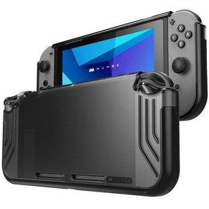 Image 1 - Pour Nintendo Switch Case Mumba Slimfit série Premium mince clair hybride étui de protection couverture pour Nintendo Switch 2017 libération