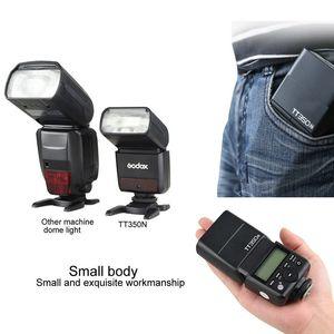 Image 5 - Godox TT350N 2.4 グラム HSS 1/8000s i TTL GN36 カメラのフラッシュスピードライト + X1T N フラッシュトリガートランスミッタニコン一眼レフデジタルカメラ