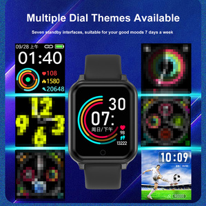 Image 3 - B58 الساعات الذكية مقاوم للماء الرياضة B57 زائد آيفون أبل الهاتف Smartwatch رصد معدل ضربات القلب ضغط الدم للنساء الرجال