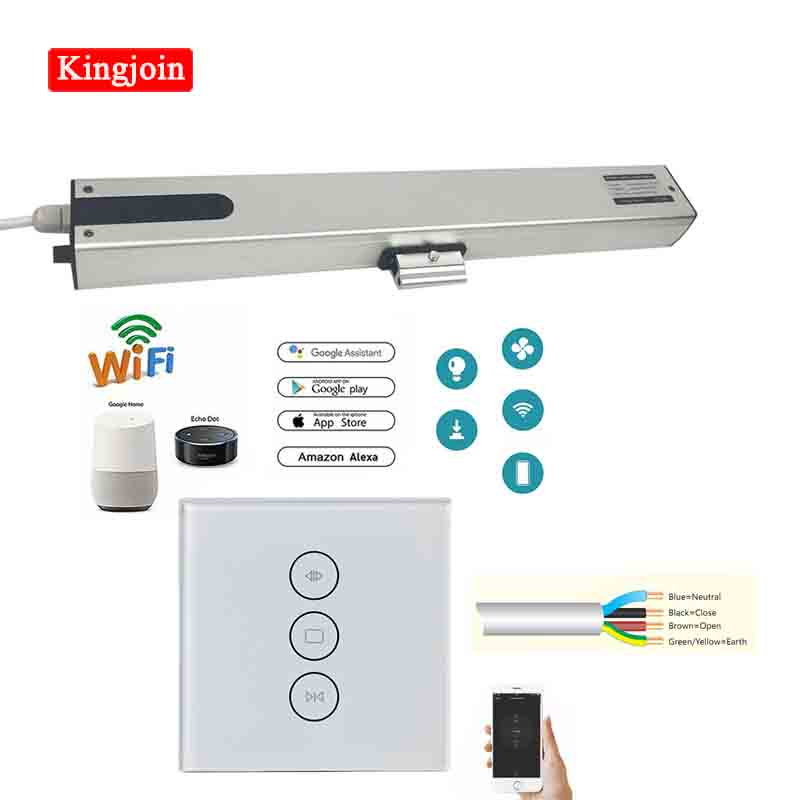 High Quality German Design Four-wire Smart Home Single Chain Electric Window Opener / Actuator Motor With WIFI Controller