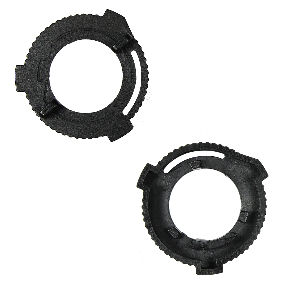 YUNPICAR  H7 LED Headlight Bulb Holder Adapter Socket Base Clip For 2019 Ford Fiesta 2Pcs