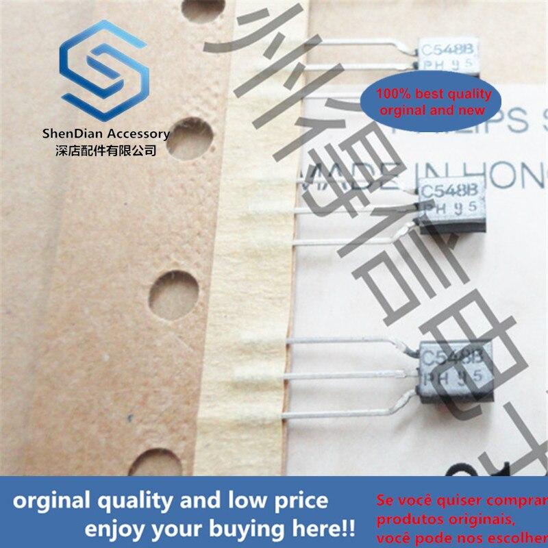 30pcs 100% Orginal New BC548B 548 TO-92 Amplifier Transistors(NPN Silicon)  Real Photo