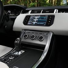 8 + 128g carro multimídia player estéreo gps dvd rádio navi navegação tela android para land rover range rover sport l494 2013 2018