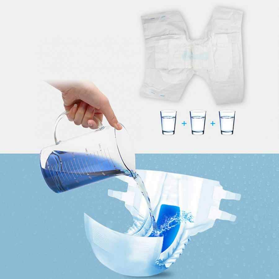 Adult Diapers 10pcs/bag Unisex Adult Diapers Water Absorption Elderly Maternal Care Mats XL Adult Diapers Disposable
