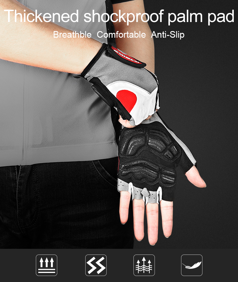 Innovative Gel Padded Cycling Gloves