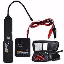 Uniwersalny krótki i wyszukiwarka otwartych obwodów Tester kabel samochodowy Tester przewodu Automotive Tracker akcesoria samochodowe do wykrywania