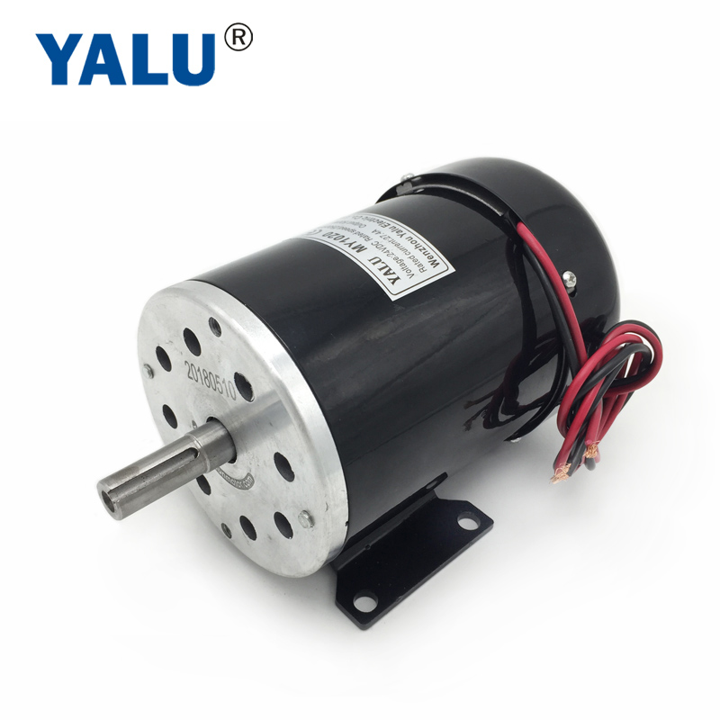 YALU MY1020 <font><b>24V</b></font> <font><b>500W</b></font> Tailand Solar Pump Driver Park Buggy Car Engine Brushed <font><b>DC</b></font> <font><b>Motor</b></font> With Cooling Fan image