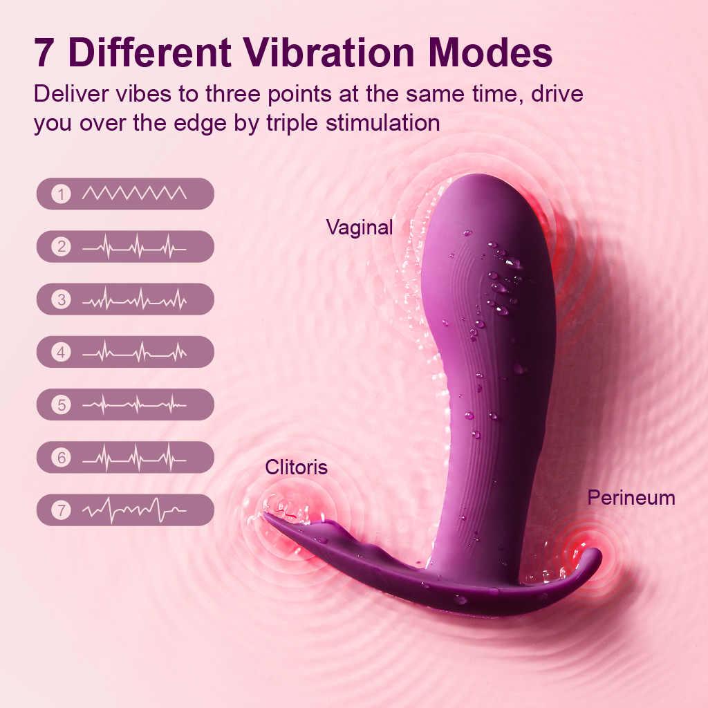 Luvkis Remote Vibrator Panty G Spot Draadloze Trillen Ei Wearable Dildo Vrouw Seksspeeltje Voor Paar Vrouwelijke Erotische Clit Stimulat usb