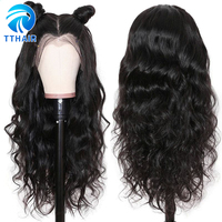 TTHAIR Body Wave Wig 13x6 Lace Front Wig Human Hair Lace Wig Brazilian Remy 28 inch Lace Front Human Hair Wigs Woman 150 Density