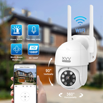 Xiaomi Smart P1 Outdoor Camera 1080P 270° PTZ Rotate Wifi Webcam Humanoid Detect Waterproof Security Camers Work For Mi Home App