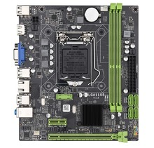 цена на H61 Micro Motherboard LGA 1155 For intel original Chipset DDR3 Memory SATA For I3 I5 I7 Xeon Series Desktop computer mainboard