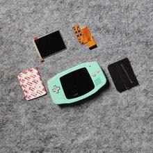 Dla GBA ekran IPS LCD o przekątnej V2 zestaw i obudowa dla GAME BOY ADVACNE GBA V2 z muszli podświetlenie