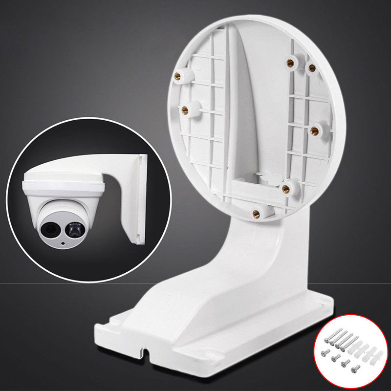 For Hikvision IP Dome Camera Wall Mount Bracket Holder White 12*7.6cm ABS Durable Camera Dome Holder Stand Indoor&outdoor