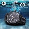 Мужские автоматические механические часы для ныряльщиков  спортивные водонепроницаемые японские мужские часы  светящиеся часы Mergulho Homem ...