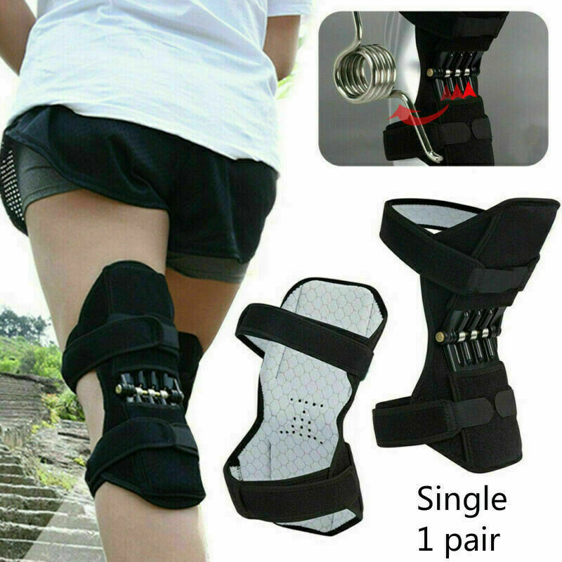1 PC Joint Support Knee Pads Power Lift Knee Stabilizer Pads Powerful Rebound Spring Force Support Knee Pad