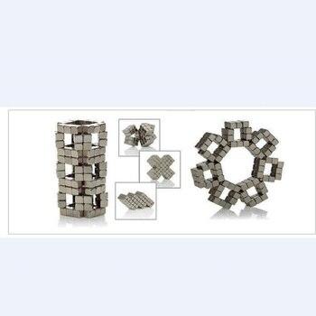 Wholesale Magnet Metal Balls 5mm 216pcs/set Magnetic Stick Building Blocks Construction Designer Creative Educational Toys Kids