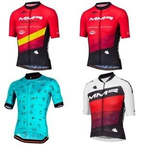 2020 ММР Велоспорт Джерси с коротким рукавом мужская одежда для велоспорта летние велосипедные майки для шоссейного велосипеда Рубашки MTB Од...